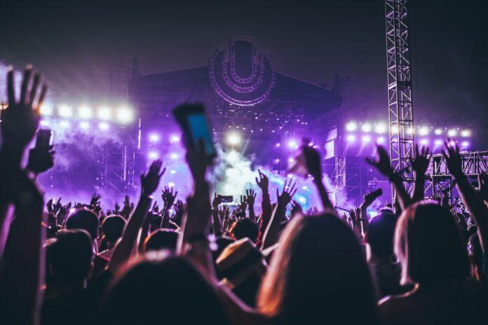 Music festival in Cambodia