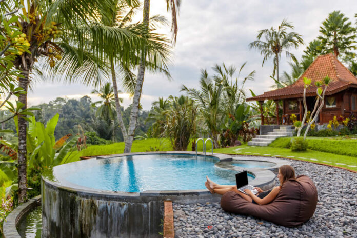 digital nomad co-living in Asia