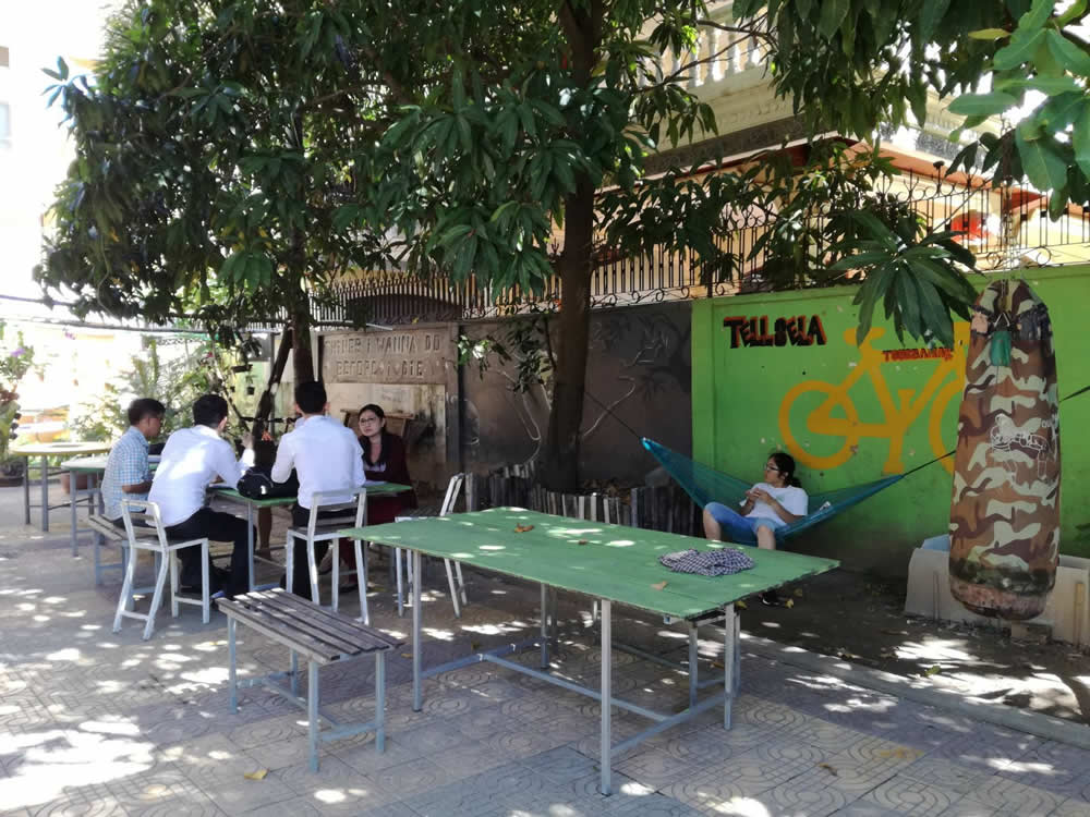 coworking space in Cambodia