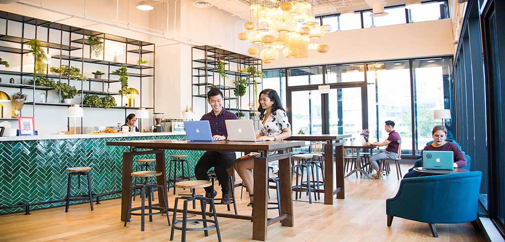 coworking space for digital nomads in Tokyo