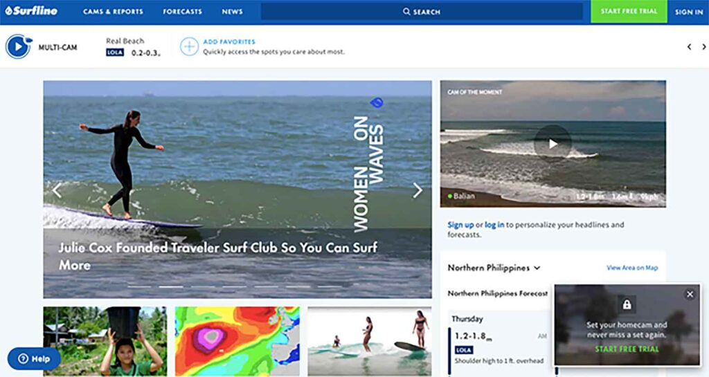 surfline surf report