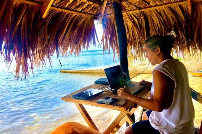 digital nomad founder story