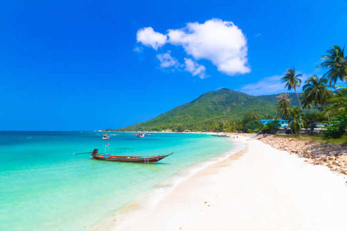 Ko Pha Ngan is an island in southeast Thailand