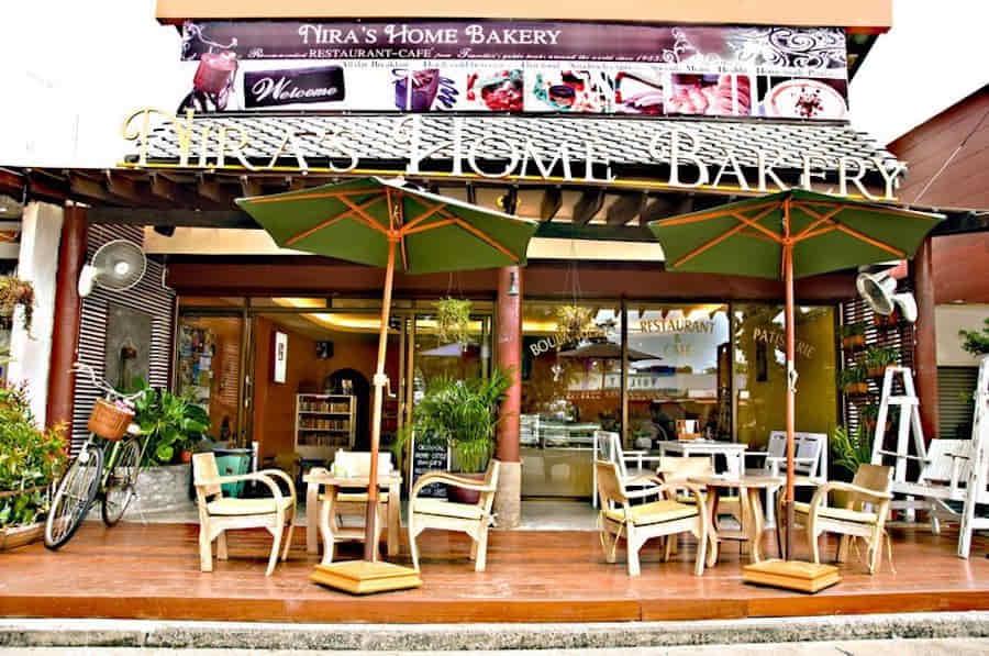 Niras Home Bakery Cozy Cafe in Koh Phangan