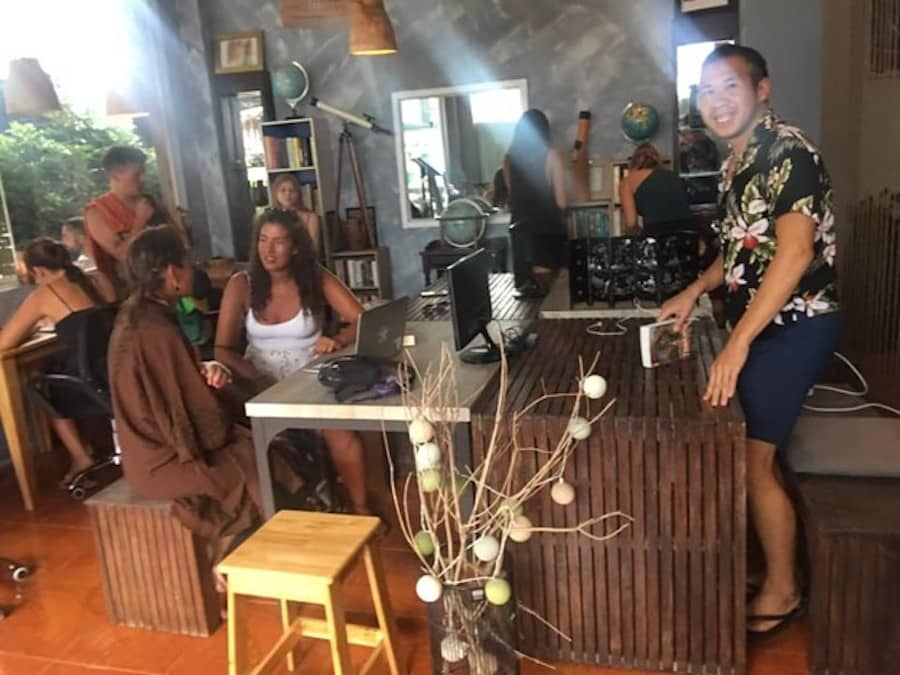 The Nomad house coworking and coliving space in Koh Phangan
