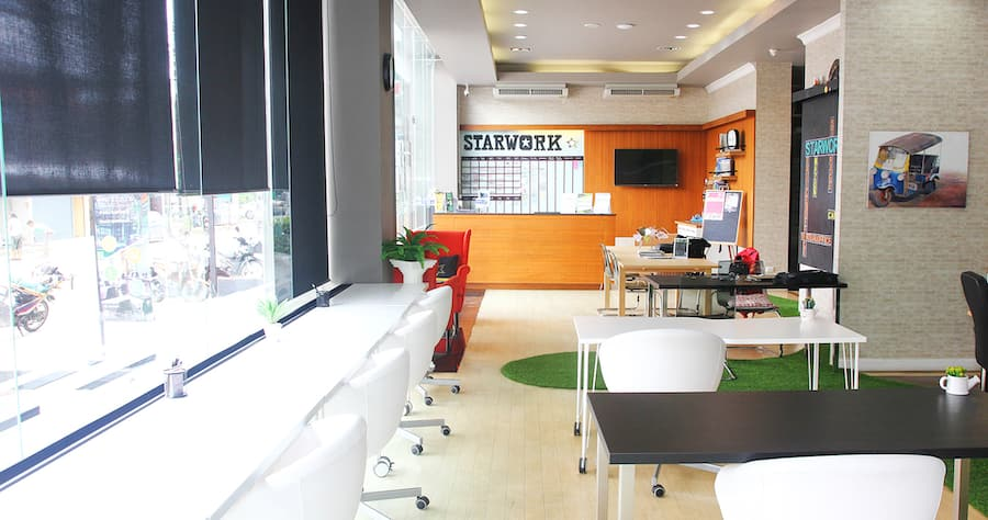 Starwork Coworking Space in Chiang Mai
